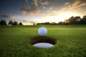 golf-ball-sunset